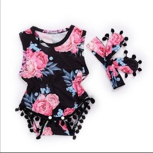 Other - Sale!! Baby girls floral romper